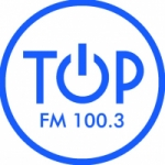 Logo da emissora Radio Top 100.3 FM