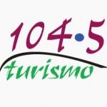 Logo da emissora Radio Turismo 104.3 FM