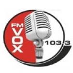 Logo da emissora Radio Vox Ucacha 103.3 FM