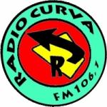 Logo da emissora Radio Curva 106.1 FM