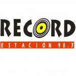 Logo da emissora Radio Record Estación 98.7 FM