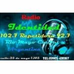 Logo da emissora Radio Identidad 102.7 FM