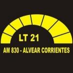 Logo da emissora Radio Municipal Alvear 830 AM