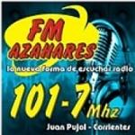 Logo da emissora Radio Azahares 101.7 FM