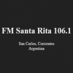 Logo da emissora Radio Santa Rita 106.1 FM