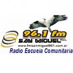 Logo da emissora Radio San Miguel 96.1 FM