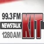 Logo da emissora KQMY 99.3 FM