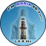 Logo da emissora Radio Maria 96.7 FM