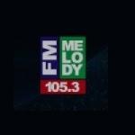 Logo da emissora Radio Melody 105.3 FM