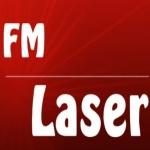 Logo da emissora Radio L�ser 92.5 FM