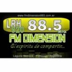 Logo da emissora Radio Dimensión 88.5 FM