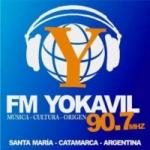 Logo da emissora Radio Yokavil 90.7 FM