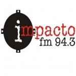 Logo da emissora Radio Impacto 94.3 FM