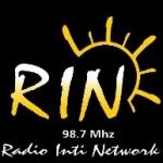 Logo da emissora Radio Rin 98.7 FM