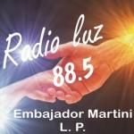 Logo da emissora Radio Luz 88.5 FM