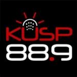 Logo da emissora Radio KUSP 88.9 FM