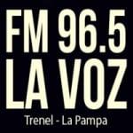 Logo da emissora Radio La Voz 96.5 FM