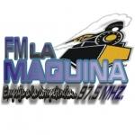 Logo da emissora Radio La Maquina 97.5 FM