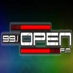 Logo da emissora Radio Open 99.1 FM