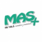 Logo da emissora Radio Más 106.5 FM