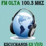 Logo da emissora Radio Olta 100.3 FM
