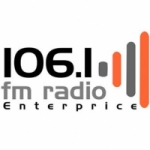 Logo da emissora Radio Enterprice 106.1 FM