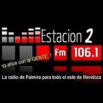 Logo da emissora Radio Estaci�n 2 106.1 FM