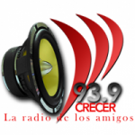 Logo da emissora Radio Crecer 93.9 FM