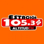 Logo da emissora Radio Estación Altitud 105.3 FM