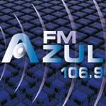 Logo da emissora Radio Estación Azul 106.9 FM