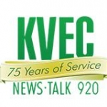 Logo da emissora KVEC 920 AM
