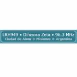 Logo da emissora Radio Difusora Zeta 96.3 FM