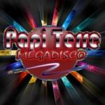 Logo da emissora Radio Papi Terre Megadisco 95.9 FM
