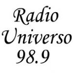 Logo da emissora Radio Universo 98.9 FM
