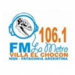 Logo da emissora Radio La Metro 106.1 FM