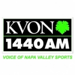 Logo da emissora Radio KVON 1440 AM