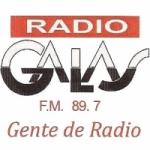 Logo da emissora Radio Galas 89.7 FM