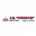 Logo da emissora Radio Peumayen 106.9 FM