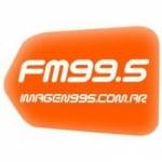 Logo da emissora Radio Imagen 99.5 FM
