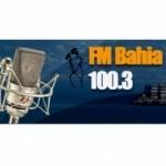 Logo da emissora Radio Bahia 100.3 FM