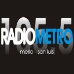 Logo da emissora Radio Metropolitana 105.5 FM