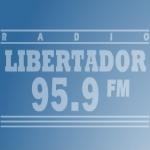 Logo da emissora Radio Libertador 95.9 FM