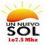 Logo da emissora Radio Nuevo Sol 107.5 FM