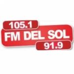 Logo da emissora Radio Del Sol 105.1 FM