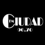 Logo da emissora Radio Ciudad 90.7 FM