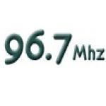 Logo da emissora Radio Centenario 96.7 FM