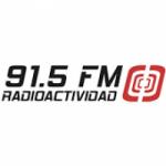 Logo da emissora Radioactividad 91.5 FM