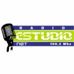 Logo da emissora Radio Estudio Net 100.5 FM