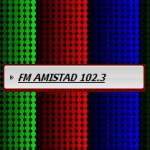 Logo da emissora Radio Amistad 102.3 FM