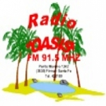 Logo da emissora Radio Oasis 91.5 FM